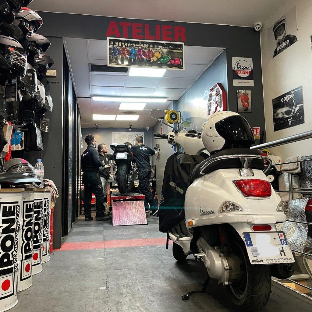 Atelier de réparation spécialiser 2 roues